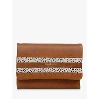 Radley Damsel Walk Small Leather Tri-Fold Purse, Tan