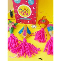 The Make Arcade Felt Tree Decorations Craft Kit