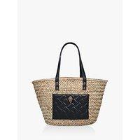 Kurt Geiger London Kensington Basket Shopper Bag, Black