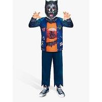Werewolf Sustainable Children's Costume, 8-10 Years.