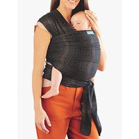 MOBY Classic Cotton Wrap Baby Carrier, Grey Fleck