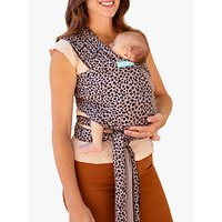 MOBY Classic Cotton Wrap Baby Carrier, Leopard
