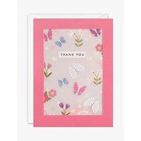 James Ellis Stevens Butterfly Shakies Thank You Card