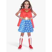 Wonder Woman Children's Costume, 10-12 Years.