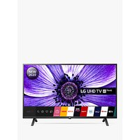 LG 43UN70006LA (2020) LED HDR 4K Ultra HD Smart TV, 43 inch with Freeview HD/Freesat HD, Black