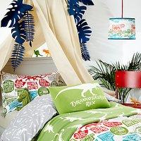 little home at John Lewis Prehistoric Explorer Duvet Cover and Pillowcase Set, Single