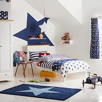 little home at John Lewis Stars and Stripes Duvet Cover and Pillowcase Set, Single
