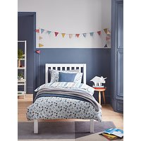 little home at John Lewis Polka Dot Reversible Duvet Cover and Pillowcase Set, Single, Multi