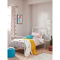 little home at John Lewis Sahara Reversible Duvet Cover and Pillowcase Set, Single, Multi