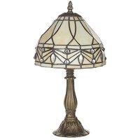 Kaleidoscope 'Kilbride' Tiffany Table Lamp