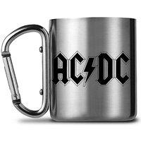 AC/DC Logo Carabiner Camping Mug.