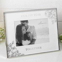 Amore by Juliana 1st Year Together 7 x 5 inch Photo Frame.