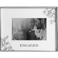 Amore by Juliana 'Engaged' Floral Frame 6 x 4 inch Photo Frame.