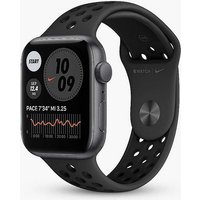 Apple Watch Nike SE GPS, 40mm Space Grey Aluminium Case with Anthracite/Black Nike Sport Band - Regular.