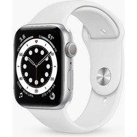 Apple Watch SE GPS, 40mm Silver Aluminium Case with White Sport Band - Regular at Kaleidoscope Catalogue