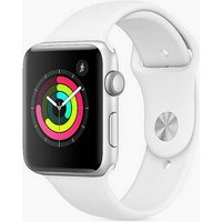 Apple Watch Series 3 GPS, 42mm Silver Aluminium Case with White Sport Band at Kaleidoscope Catalogue