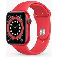 Apple Watch Series 6 GPS, 44mm Aluminium Case with Sport Band - Regular.