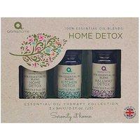 Aroma Home Set of 3 100% Essential Oil Blends Home Detox Set.