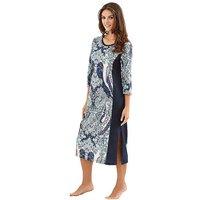 Ascafa Ethnic Print Nightdress