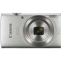 Canon IXUS 185 20MP 8x Zoom HD Camera - Silver.