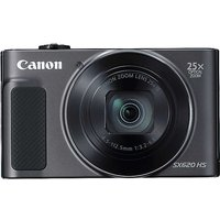 Canon PowerShot SX620 HS 20.2MP 25x Zoom FHD WiFi Camera - Black.
