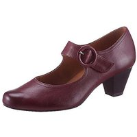 Caprice Buckle Detailed Court Shoes.