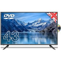 Cello 43in Full HD LED Digital TV with Built-in DVD Player & Freeview T2 HD.