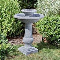 Kaleidoscope Chatsworth 2-Tier Solar Powered Fountain