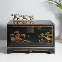 Kaleidoscope Chinoiserie Storage Chest