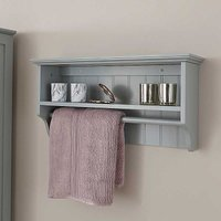 Kaleidoscope Cotswold Towel Rail & Shelf