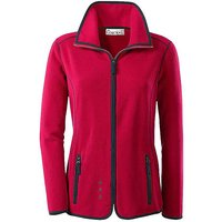 Creation L Contrast Piping Fleece Jacket