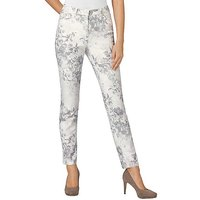 Creation L Floral Pattern Trousers