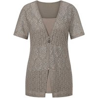 Creation L Layered Look Lace Top