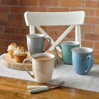 Denby Elements Range - 4 Piece Mug Set