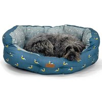 FatFace Flying Birds Deluxe Slumber Pet Bed by Danish Design.