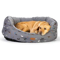 FatFace Marching Dogs Deluxe Slumber Beds by Danish Design.