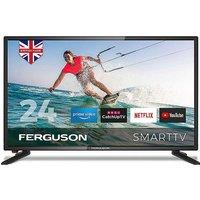 Ferguson 24in HD Ready LED Smart TV with Wi-Fi.