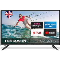 Ferguson 32in LED Smart TV with Wi-Fi.