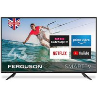 Ferguson 43in LED Smart TV with Wi-Fi.