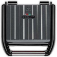 George Foreman Grey 5 Portion Family Grill 25041.