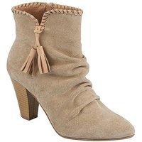 Heine Tassel Ankle Boots
