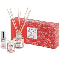 Heyland & Whittle Home - Sweet Pea & Rose Fragrance Gift Set.