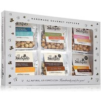 Joe & Seph's Gourmet Popcorn Selection Box of 6x 32g Snack Packs.