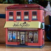 Joe & Seph's Gourmet Popcorn Shop Tin with 6x 32g Snack Packs.