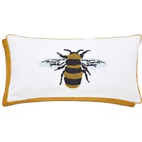 Joules Botanical Bee Clipped Cushion.