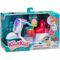 Kindi Kids Kindi Fun Delivery Scooter Playset with 2 Exclusive Shopkins.