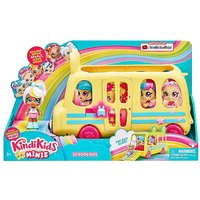 Kindi Kids Minis Marsha Mello & School Bus.