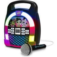L.O.L. Surprise! O.M.G. Remix Bluetooth MP3 Karaoke Machine with Microphone.