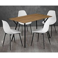 Lisbon Dining Table & 4 x Chairs.