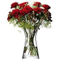 LSA International 29cm Mixed Bouquet Glass Flower Vase